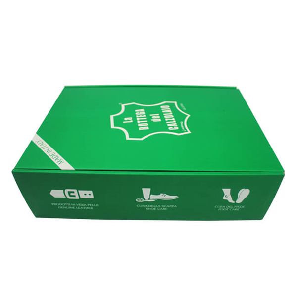 Green Corrugated Paper Box For Gift Packaging