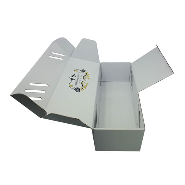 corrugated mailing box for flower packaging