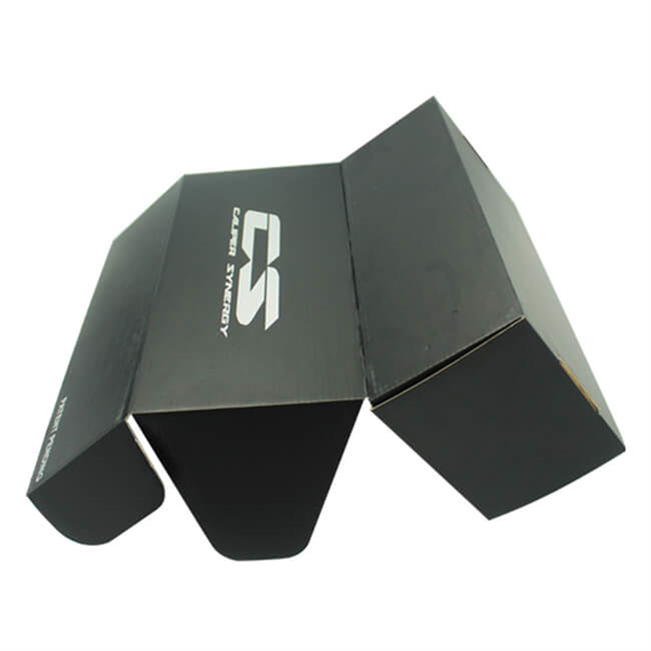 Black Printing Corrugated Mailing Box For Product Packaging