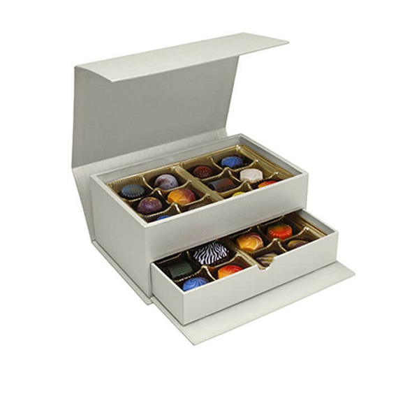 High-end custom gift box for chocolate candy packaging