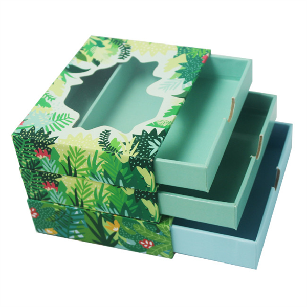 Empty Custom Design Luxury Paper Gift Cosmetic Packaging Skin Care Box