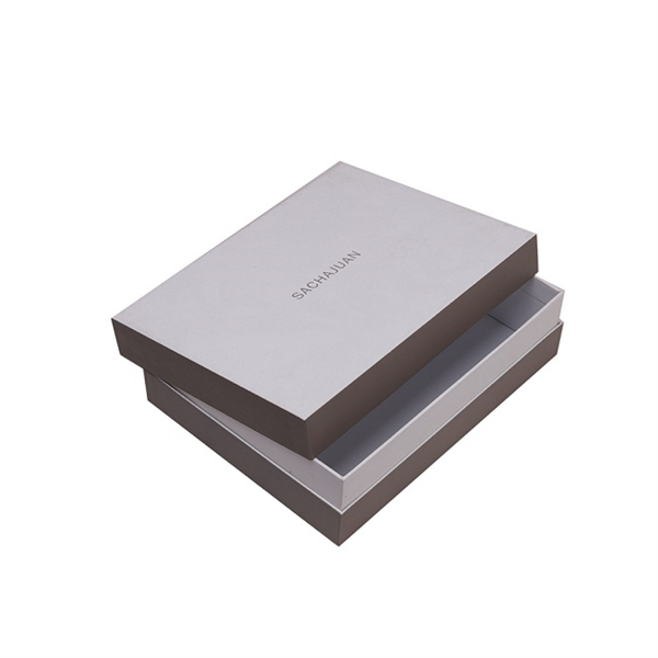Base and lid style paper cosmetic gift box packaging