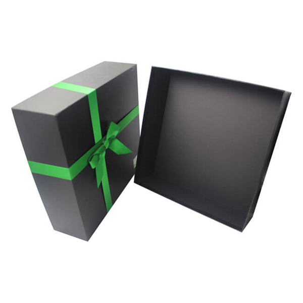 large black custom paper box with lid supplier,custom gift box manufacturer