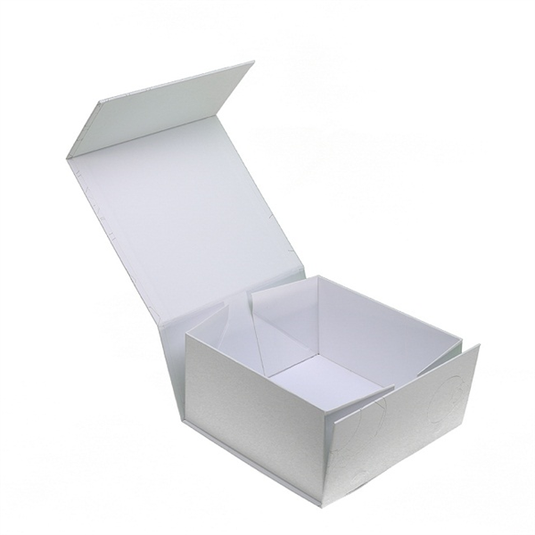 Bespoke rigid collapsible paper box with magnet