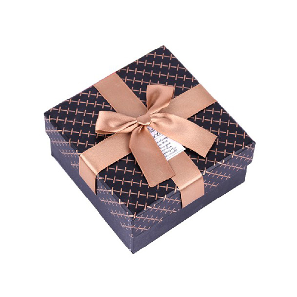 small gift box with big bow