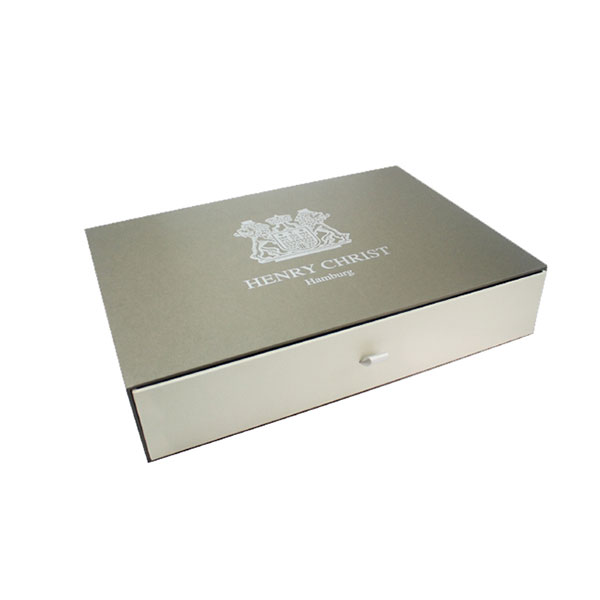 Large Drawer Sliding Paper Gift Boxes with Custom Logo