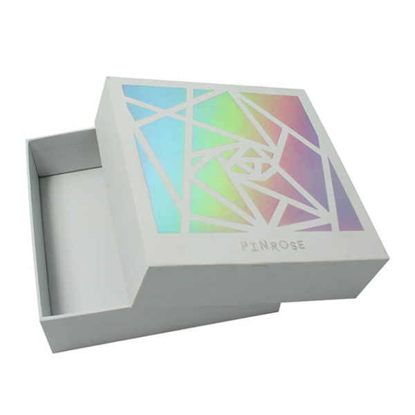 Base and Lid  Style Paper Gift Box for Cosmetic Packaging