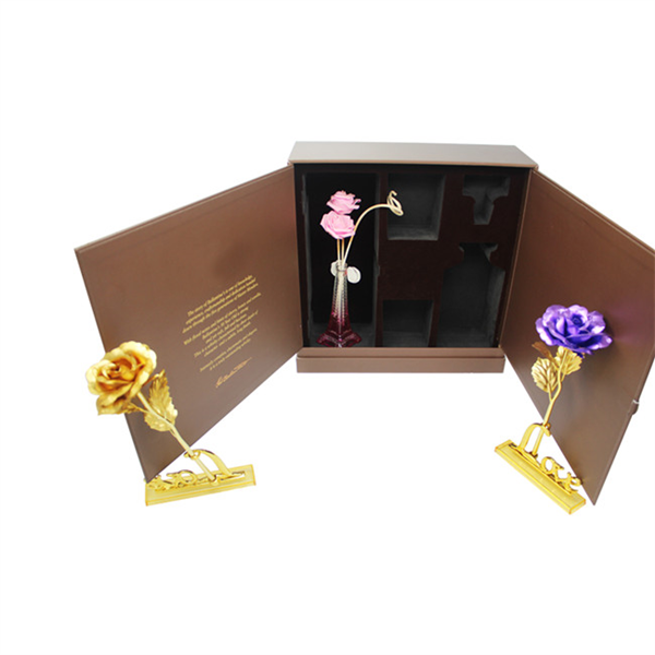 Special design of gift paper box for wine packaging