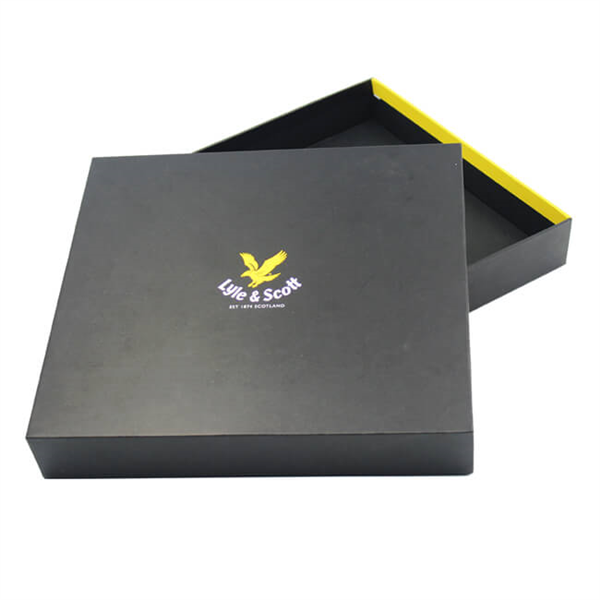 Bespoke high quality paper box with lid for boxer packaging