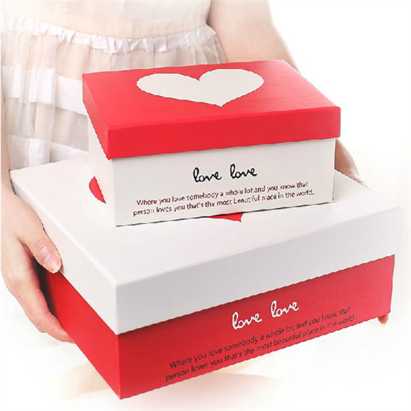 Eco-Friendly Custom Printed Lovely Paper Gift Box Packaging