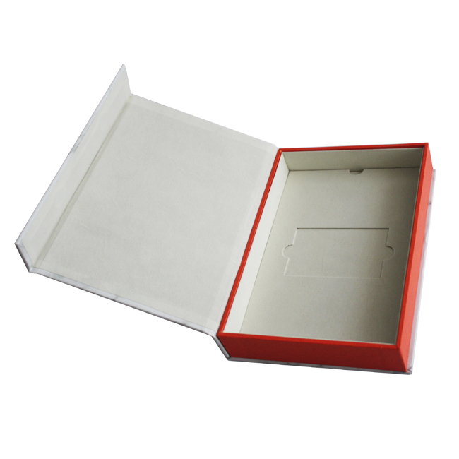 Custom Marble Magnetic Rigid Box Packaging For Book