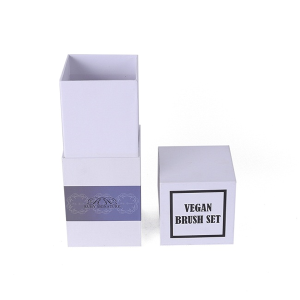 Customized top and bottom paper perfume packaging box