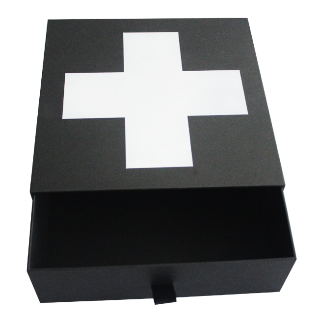 Slide Drawer Cosmetic Packaging Boxes-HS Factory