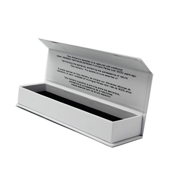 Small Size Paper Essential Oil Box with Magnet Closure