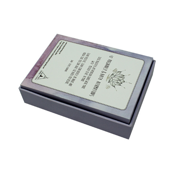 luxury purple perfume carbaord packaging box