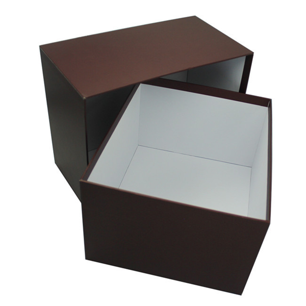 Home Clothes Collapsible Decorative cardboard Storage Box with lid