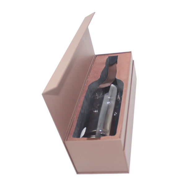 High Quality Luxury Wine Package Cardboard Box With Magnet