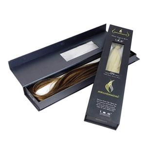 black matt hair extension box