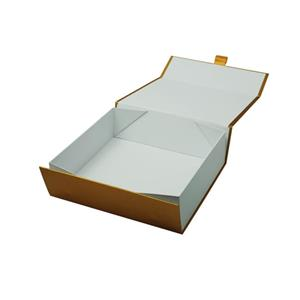 collapsible paper box for gift packaging