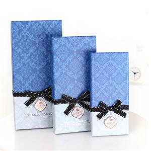 110gsm fancy paper custom gift boxes manufacturer