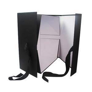 Large Black Foldable Wedding Dress Gift Box 04