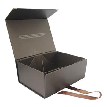 Bespoke collapsible paper box for cosmetic gift packaging