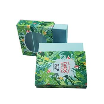 Full Color Prinring Sliding Paper Boxes With Window 04