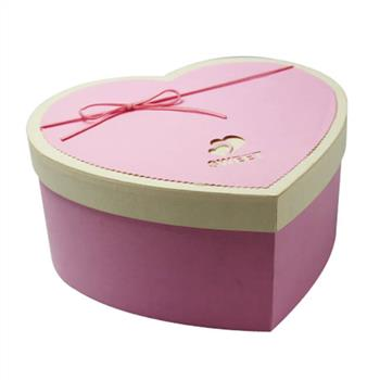 heart shaped flower gift boxes
