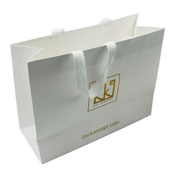 Special Paper Shopping Gift Bags with Wide Handles