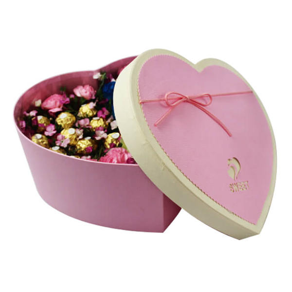Personalized heart shaped flower gift box for Christmas gifts,Valentine gifts