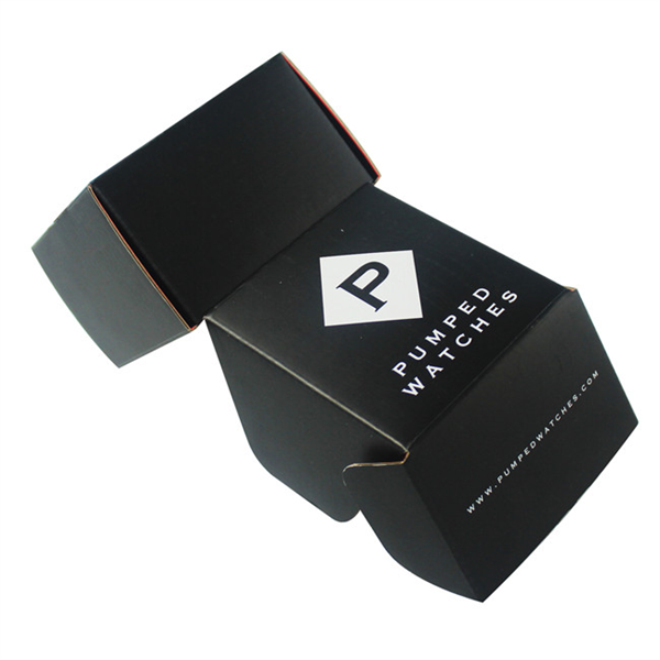 black corrugated box for electronics products