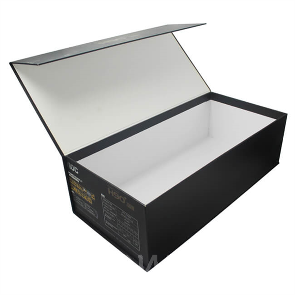 Made in China paper electronic packaging box with magnetic closure