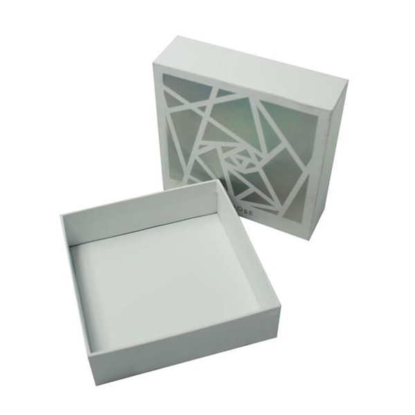 cardboard gift box with lid for cosmetic packaging