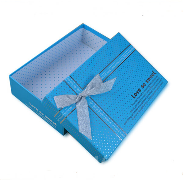 gift box with ribbon decoration