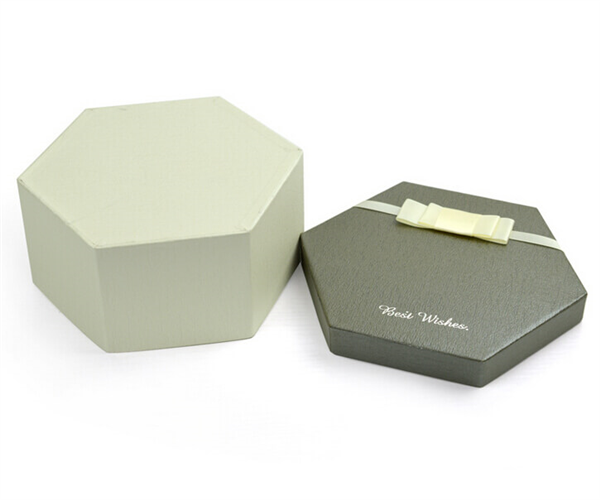 customized size hexagon paper boxes
