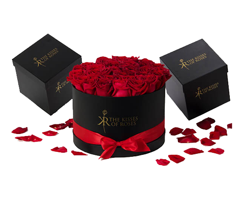flower gift box for rose packaging