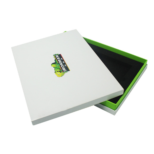 Large custom printing electronic packaging box with foam insert