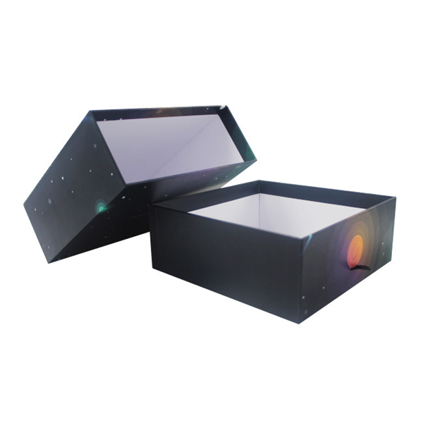Rigid sliding paper box,full color printing gift box manufacturer