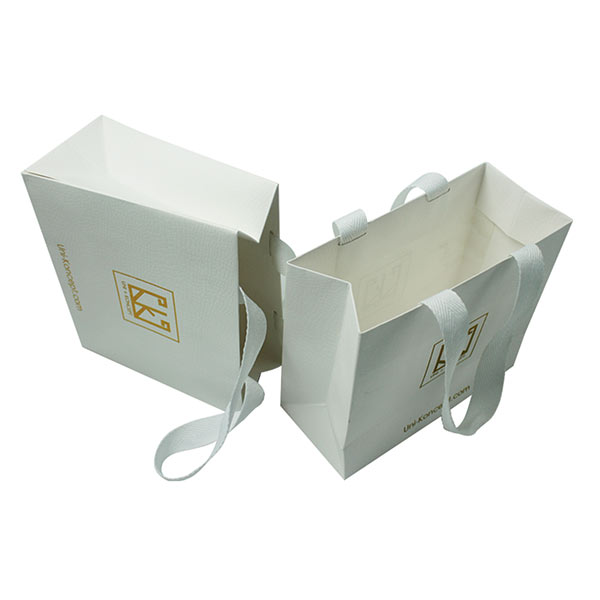 Special Paper Shopping Gift Bags with Wide Handles 02