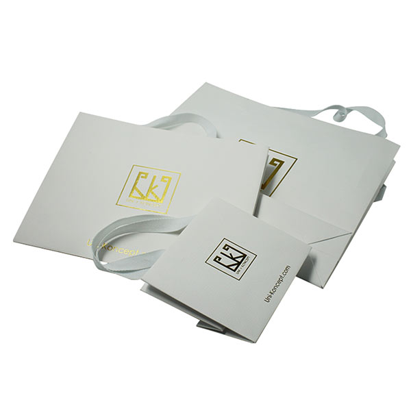 Special Paper Shopping Gift Bags with Wide Handles 03