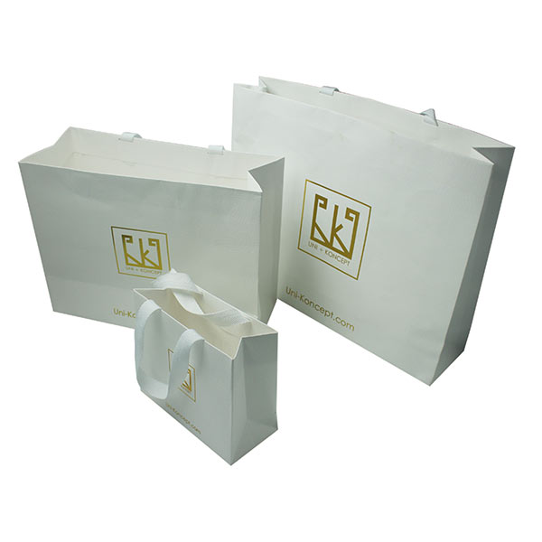 Special Paper Shopping Gift Bags with Wide Handles 04