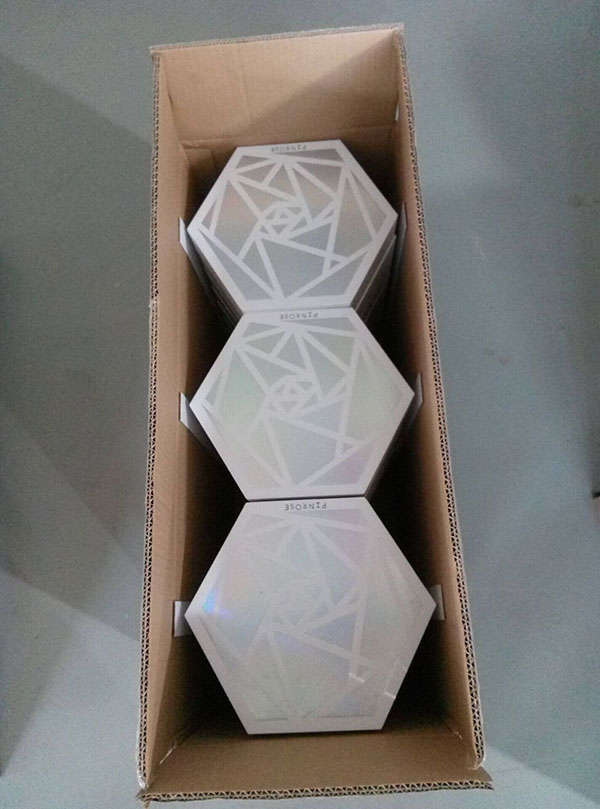The Hexagon Cosmetic Gift Boxes We Made for Our USA Client Have Been Awarded 03